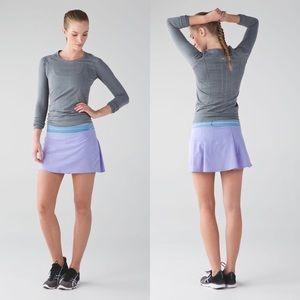 Lululemon Lilac Pace Rival Skirt II Size 8
